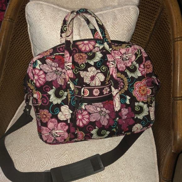 Vera Bradley Messenger Bag. M 5b735a0715379552b61f0a50 4d24f2f822263